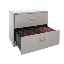 2 drawer lateral open