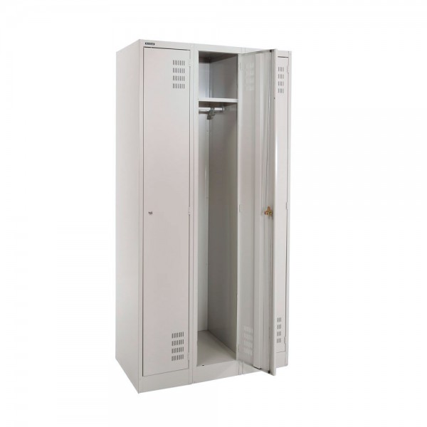 Locker Full-Height 3 Door Open
