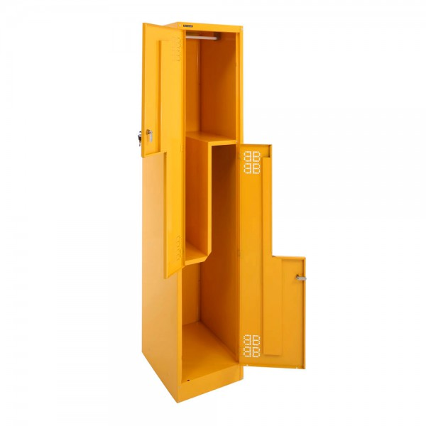 Stepdoor Locker 2-Tier Open