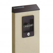 Slimline Locking Console