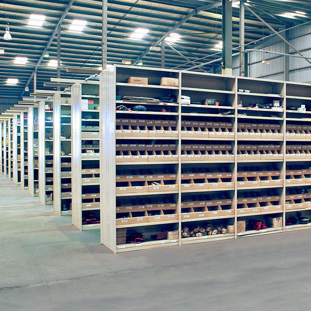 Rolled Upright Steel Shelving Brownbuilt Buy It Online Now