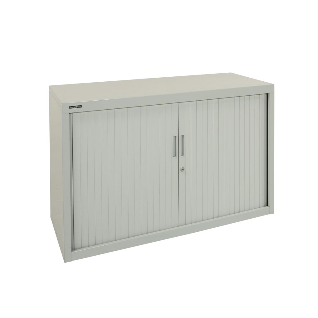 1200w X 680h Tambour Cupboard in White