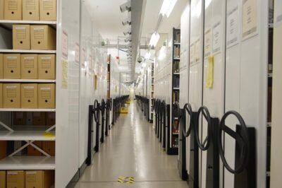 Brownbuilt - State Library of South Australia - Mechanical CompakMax, Compacting Storage