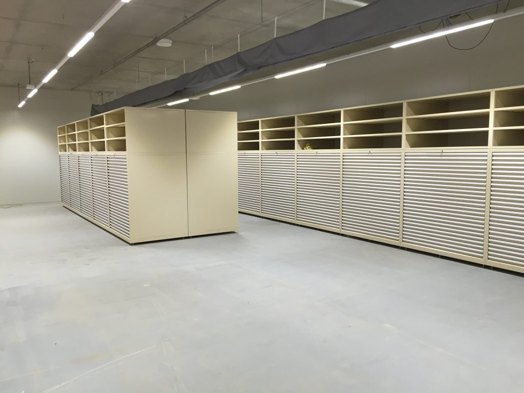 National Archives Plan File Cabinets - 1201
