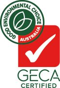 Good Environment Choice Australia - GECA Certified Logo